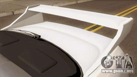 Nissan Skyline R33 Drift JDM para GTA San Andreas vista hacia atrás