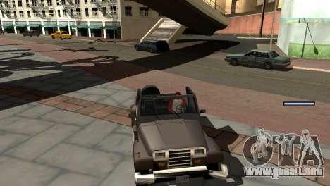 Nueva sombra sin perder FPS para GTA San Andreas