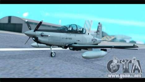 Beechcraft T-6 Texan II US Air Force 4 para GTA San Andreas