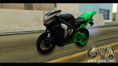 Honda CBR1000RR para GTA San Andreas