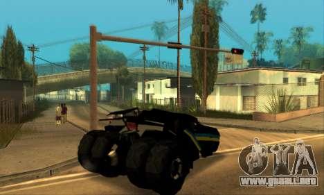 The Tumbler UA Style para la visión correcta GTA San Andreas