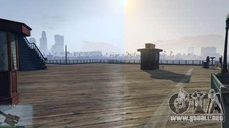 GTA 5 Natural Tones and Lighting (Custom ReShade) tercera captura de pantalla