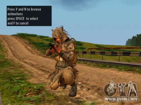 Soviética De Francotirador para GTA San Andreas sexta pantalla