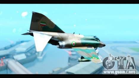 McDonnell Douglas F-4 IRIAF para GTA San Andreas left