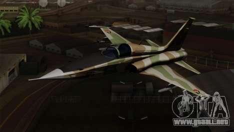 Northrop F-5 Estovakian Air Force para GTA San Andreas