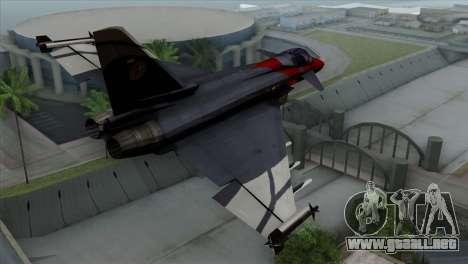 Eurofighter Typhoon 2000 para GTA San Andreas left
