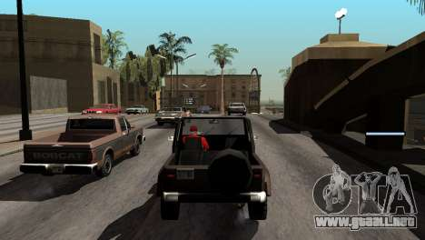 Nueva sombra sin perder FPS para GTA San Andreas undécima de pantalla