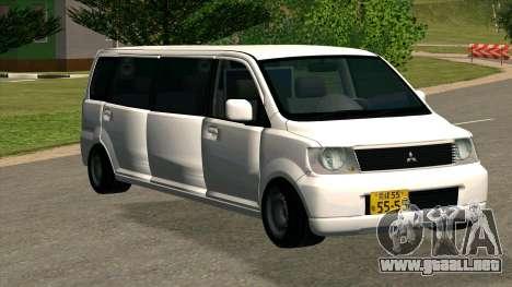 Mitsubishi EK Wagon Limo para GTA San Andreas