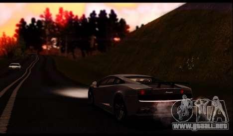 ENB J.F ProjeT 3.0 para GTA San Andreas sexta pantalla