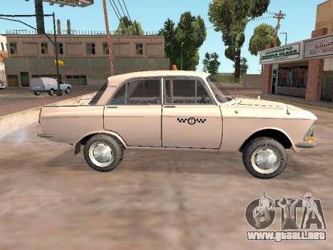 Moskvich 412 Cab para GTA San Andreas left