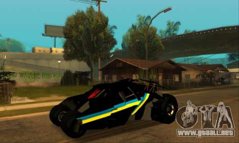 The Tumbler UA Style para GTA San Andreas