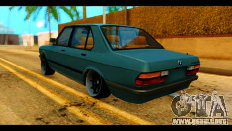 BMW 535is para GTA San Andreas left