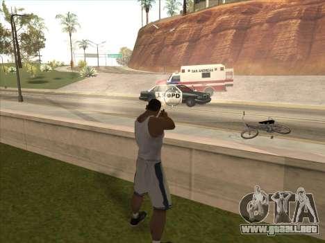 Gran ruso de armas de fuego para GTA San Andreas quinta pantalla