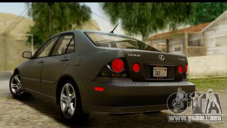 Lexus IS300 Tunable para GTA San Andreas left