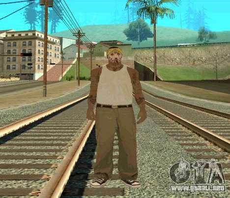 Vagos Skin Pack para GTA San Andreas segunda pantalla