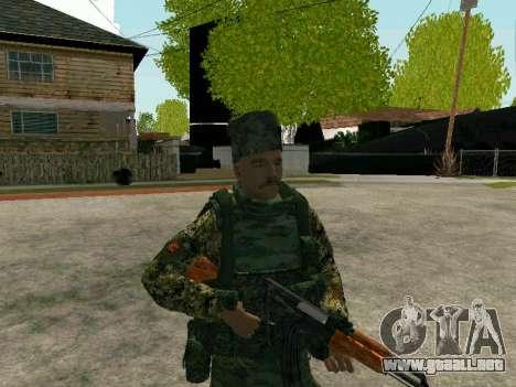 Los Cosacos De Kubán para GTA San Andreas segunda pantalla