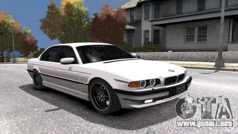 BMW 750i e38 1994 Final para GTA motor 4