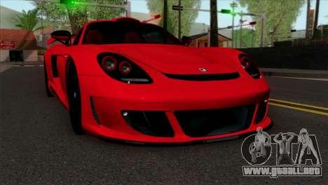 Gemballa Mirage GT v3 Windows Down para GTA San Andreas