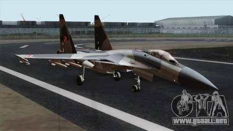 SU-37 Flanker-F Polish Air Force para GTA San Andreas