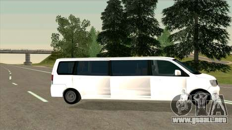 Mitsubishi EK Wagon Limo para GTA San Andreas left