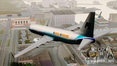 Boeing B737-800 Pilot Life Boeing Merge para GTA San Andreas left