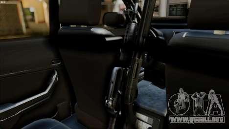 Toyota Hilux SW4 2014 ROTA para la visión correcta GTA San Andreas