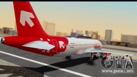 Airbus A320-200 OLT Express para GTA San Andreas left