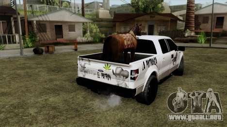 Ford F-150 Lobo Del Caballo para GTA San Andreas left