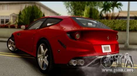 NFS Rivals Ferrari FF para GTA San Andreas left