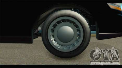 GTA 5 Dundreary Stretch IVF para GTA San Andreas vista posterior izquierda