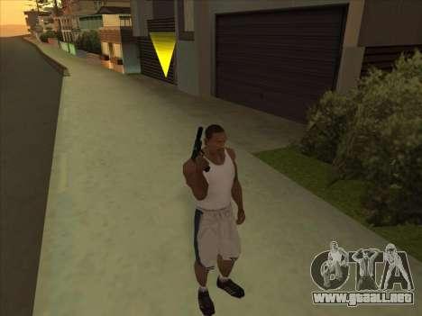 Gran ruso de armas de fuego para GTA San Andreas segunda pantalla