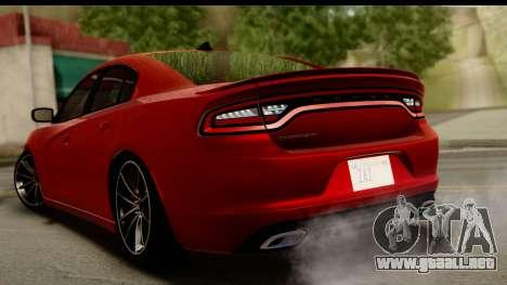 Dodge Charger RT 2015 para GTA San Andreas left