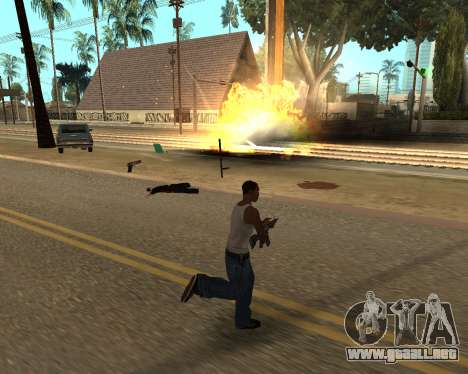 Good Effects v1.1 para GTA San Andreas novena de pantalla