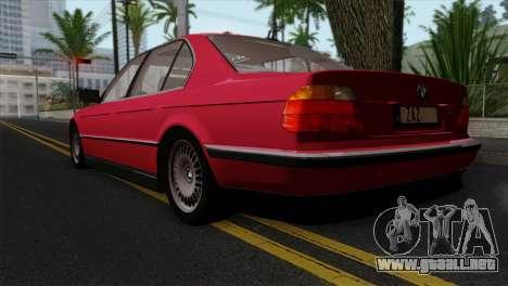 BMW 750iL E38 para GTA San Andreas left