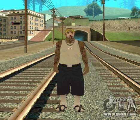 Vagos Skin Pack para GTA San Andreas