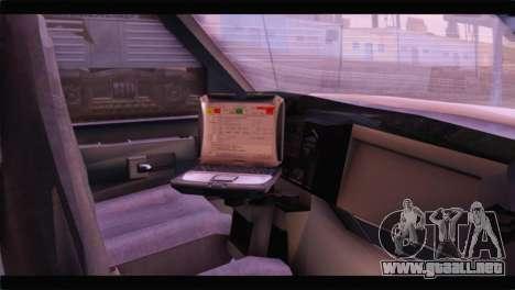 Ford E-350 Ambulance New Brunswick para la visión correcta GTA San Andreas