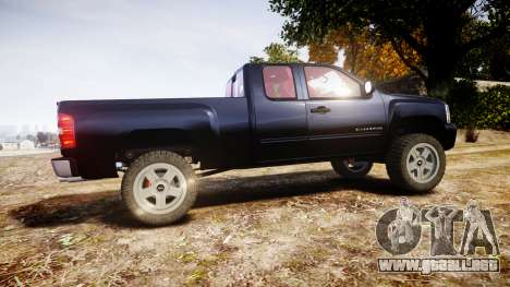 Chevrolet Silverado 1500 LT Extended Cab wheels3 para GTA 4 left