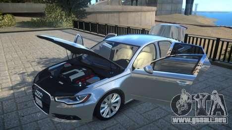 Audi A6 2012 v1.0 para GTA 4 vista lateral