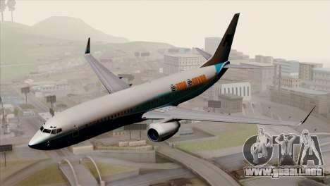 Boeing B737-800 Pilot Life Boeing Merge para GTA San Andreas