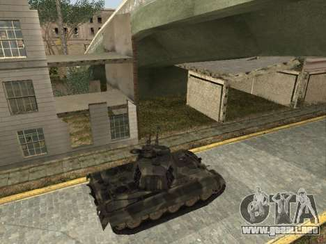 Panzerkampfwagen Tiger II para la visión correcta GTA San Andreas