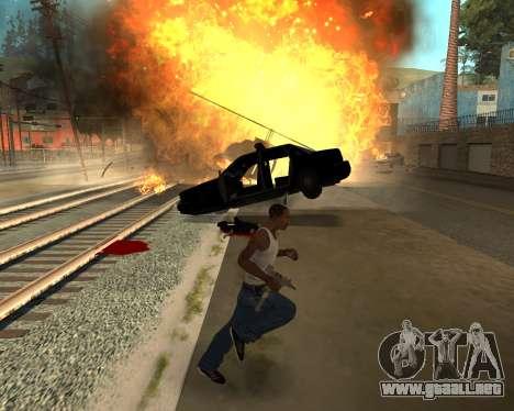 Good Effects v1.1 para GTA San Andreas octavo de pantalla