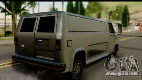 Burney Van para GTA San Andreas left