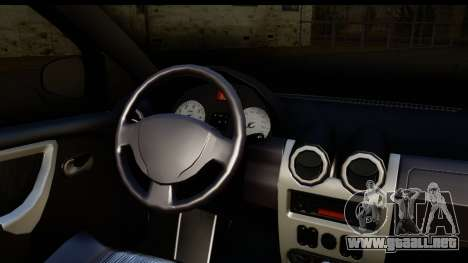 Dacia Sandero Low Tuning para la visión correcta GTA San Andreas