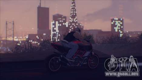 Real Live ENB para GTA San Andreas quinta pantalla