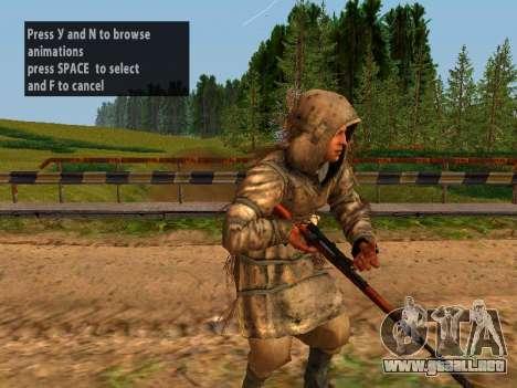 Soviética De Francotirador para GTA San Andreas décimo de pantalla