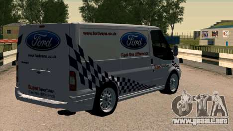 Ford Transit para GTA San Andreas left