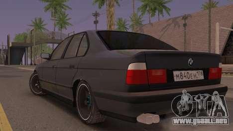 BMW 525i E34 2.0 para GTA San Andreas left