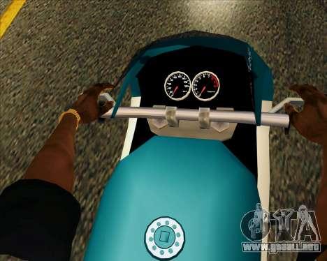 NRG-500 Winged Edition V.2 para vista lateral GTA San Andreas
