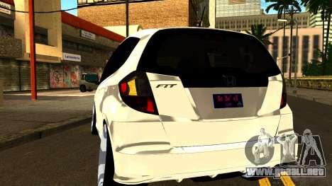 Honda Fit Sport 2009 para visión interna GTA San Andreas