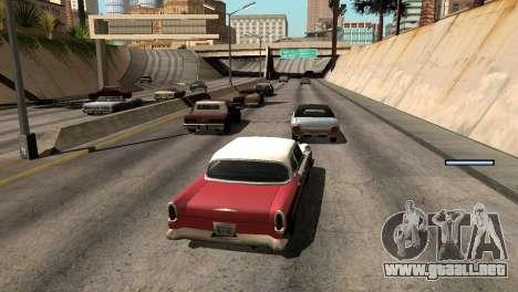 Nueva sombra sin perder FPS para GTA San Andreas octavo de pantalla